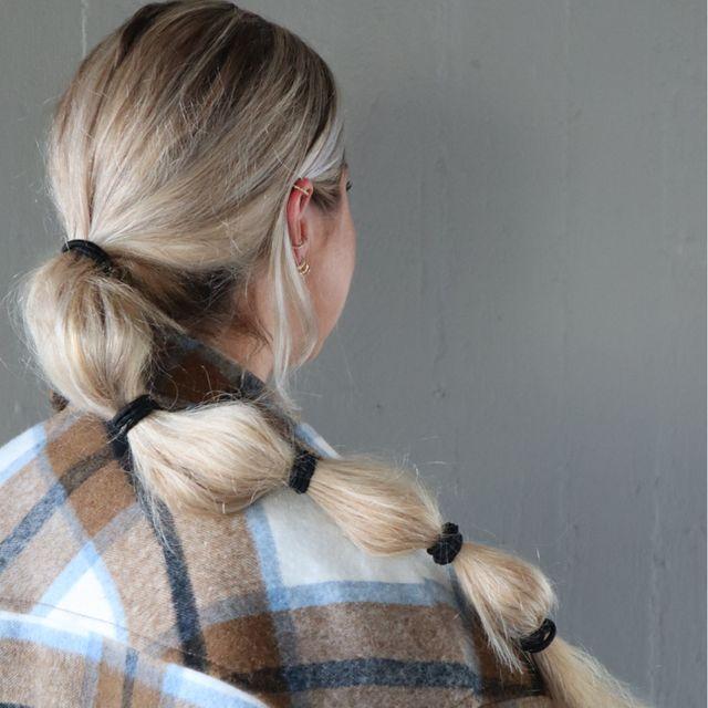 Hair Ties 5 pk - Black